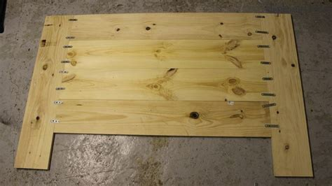 faire une t 234 te de lit avec des planches de bois