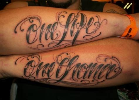 one life one chance tattoo designs one one chance on tattoos