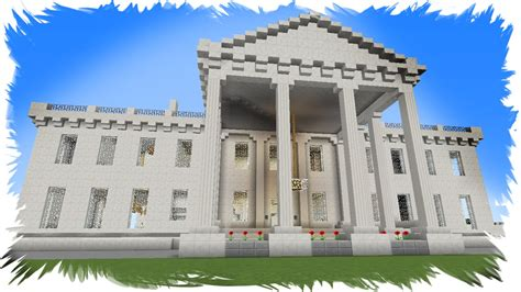 minecraft quartz house the white house minecraft quartz block own version by