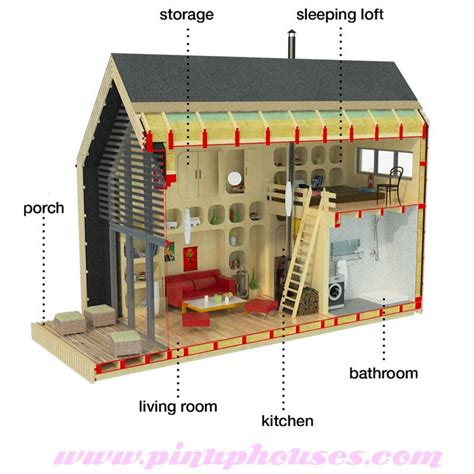 tiny house small wooden house plans micro homes