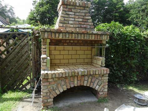 grill bauen stein beste bildideen zu hause design - Bau Eines Stein Kamins