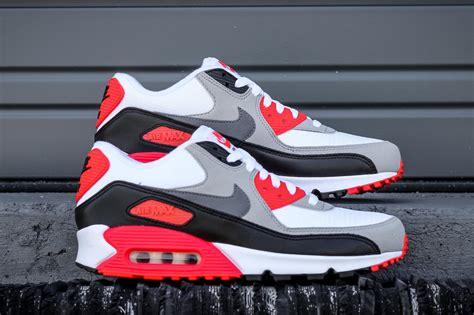 Nike Airmax 90 Cewek Abu 2 infrared nike air max 90 blue and nike shoes