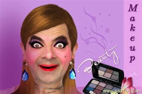 funny picture funny  bean makeup pakcom
