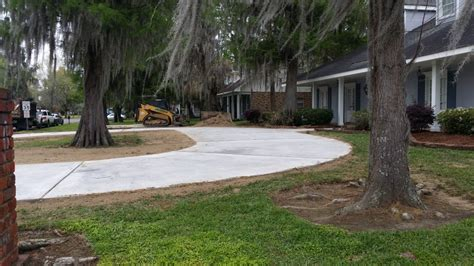 horseshoe driveway 28 images concrete driveways new orleans metairie and surround areas at