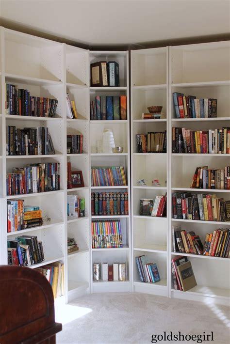 best 25 corner bookshelves ideas on diy