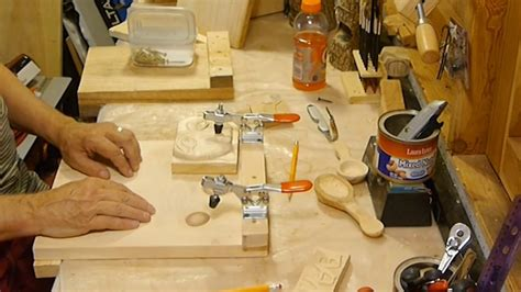 making  wood carving bench hook bird youmans youtube