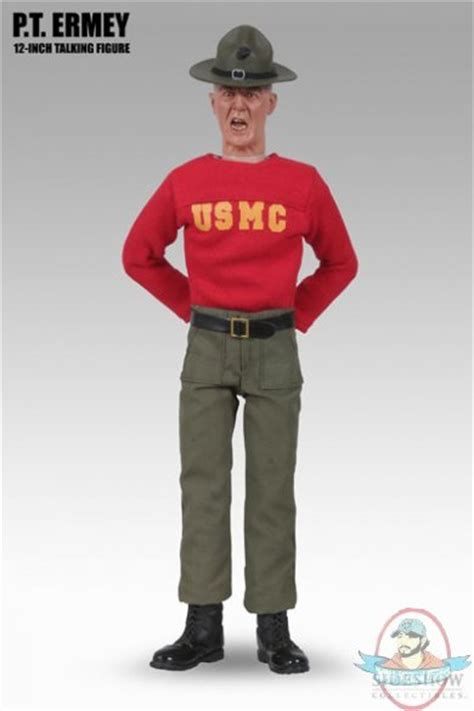 r figure pt r ermey 12 quot inch talking figure by sideshow