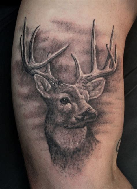 cool deer tattoos deer tattoos deer tattoos