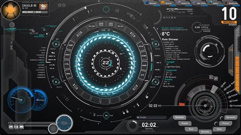 free rainmeter themes download for windows 7 elegant rainmeter theme for windows7