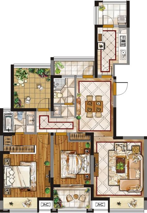 Home Plan Design 3d by