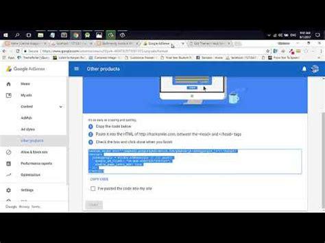 adsense verification code how to add adsense verification code to wordpress site