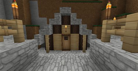 small mansion  shed minecraft map