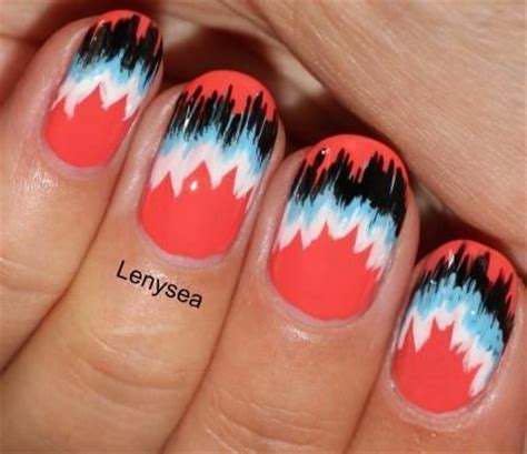 easy pattern for nails nail trends fabric pattern nails summer and fall trends