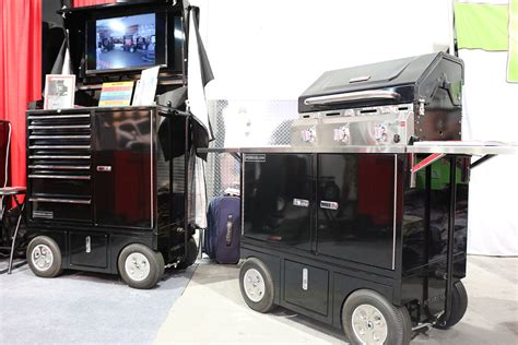Mobile Pit Sema 2015 Pitboxes Covers Your Mobile Pit Cart Needs
