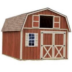 Lowes Clearance Rugs Best Barns Millcreek 12 Ft X 20 Ft Wood Storage Shed Kit