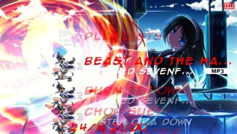 psp theme anime ctf 6 60 release anime girls 6 60 ctf