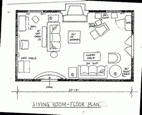 Floor Plan Of A Living Room | space planning spear interiors