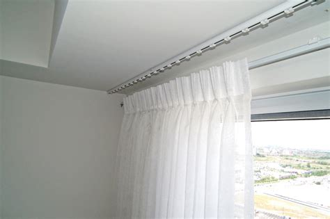 ceiling curtain track modern ceiling mount curtain track 25 modern