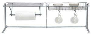 sink paper towel holder the sink shelf with paper towel holder 3 useful