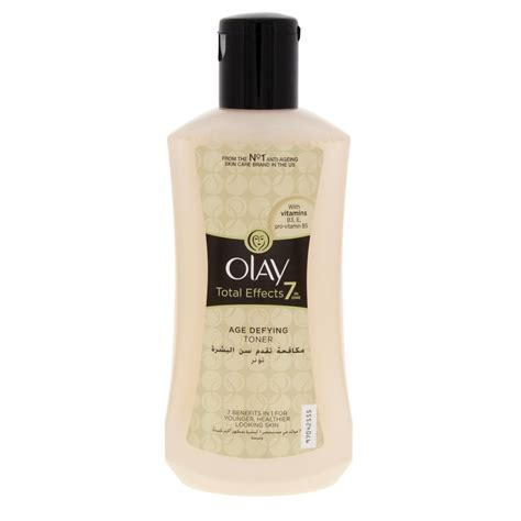 Toner Olay Total Effect olay total effects 7 in 1 age defying toner 200ml skin
