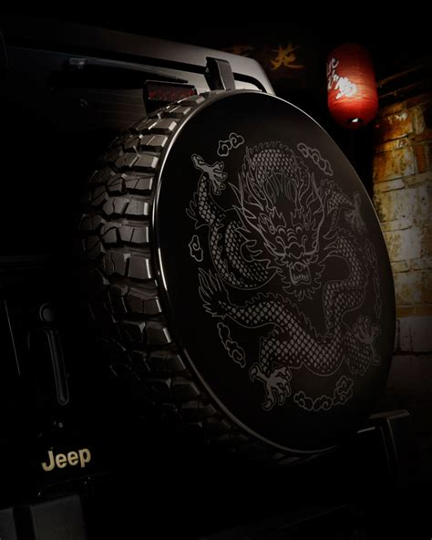 Jeep Wrangler Spare Tire Covers Unleash The Jeep Wrangler Concept Debuts In