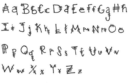 Letter In Different Styles different ways to write letters letters free sle