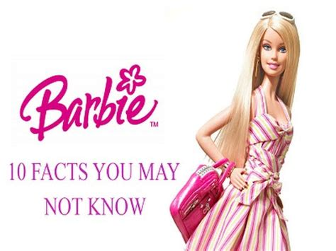 10 Facts You May Or May Not Know About The 1 4 2 Update - barbie 10 facts you may not know youtube