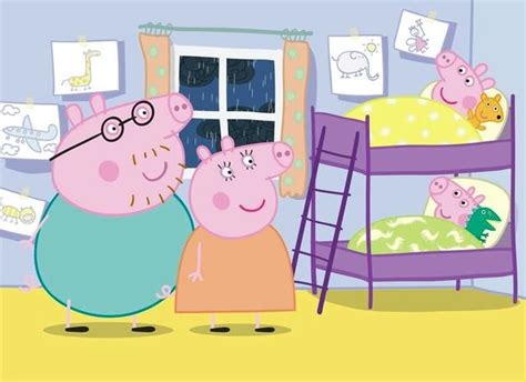 muddy puddles and dinosaurs a real peppa pig bedroom