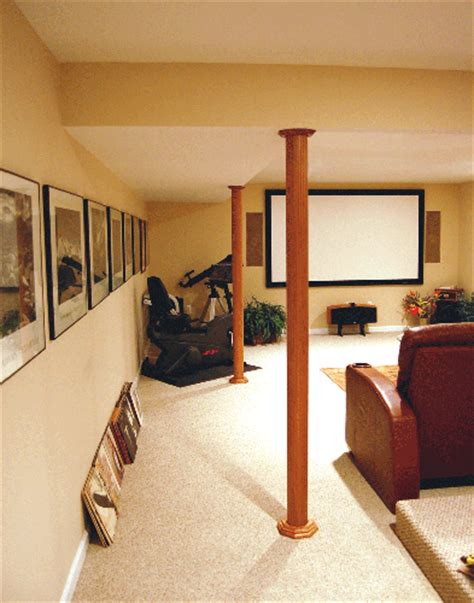 basement wrap pole wrap posts step by step installation on