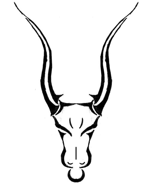 tribal bull skull tattoos taurus tattoos and designs page 99
