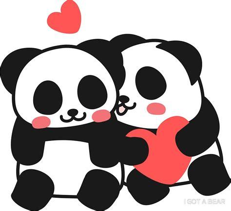 quot panda panda sticker quot stickers by i got a redbubble