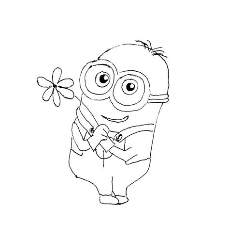 coloring pages minion stuart minion stuart coloring pages
