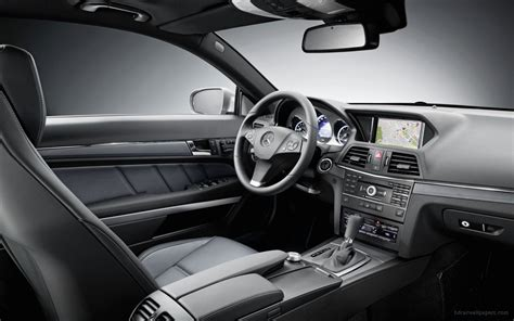 car mercedes 2010 2010 mercedes benz e class coupe interior wallpaper hd