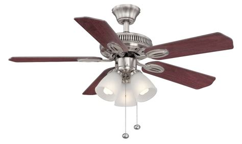 Hton Bay 42 Inch Ceiling Fan hton bay glendale 42 inch brushed nickel ceiling fan