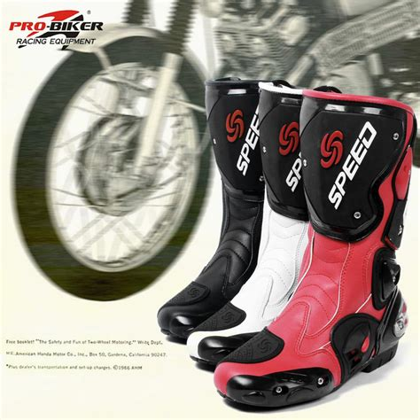 motorcycle road racing boots pro biker brand new high quality fashion motorcycle boots