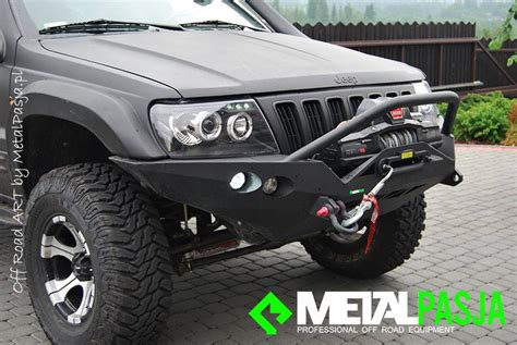 Jeep Wj Winch Bumper Front Recovery Winch Bumper Ironman Wj Jeepey Mart
