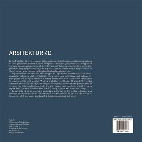 Jual Buku Ilmu Arsitektur by Jual Buku Arsitektur 4d Oleh 72 Karya 10 Sayembara
