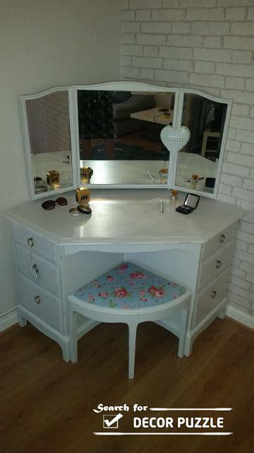 Small Corner Vanity Table Best 25 Corner Vanity Ideas On Pinterest Corner Vanity Table Corner Dressing Table And