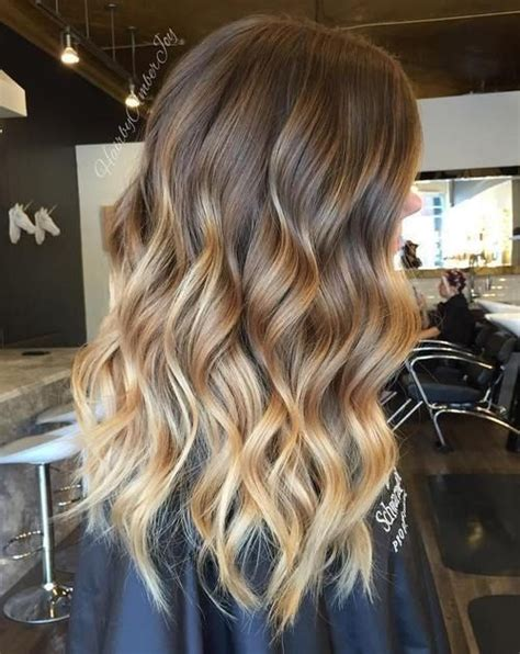 balayage dark brown hair with blonde highlights 10 beautiful blonde balayage hair color ideas for 2016 2017