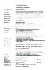 Exle Of A Resume For A by Resume Exle Activity Director Sle Best Free Home Design Idea Inspiration