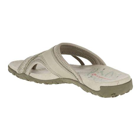 merrell terran post ii womens grey walking summer shoes