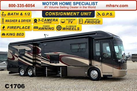 used 2013 entegra coach anthem 42rbq bath 1 2 w 4 slides