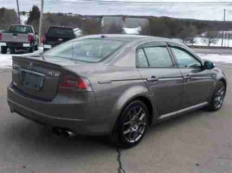 acura tl fuel acura tl fuel purchase used 2007 acura tl type s loaded