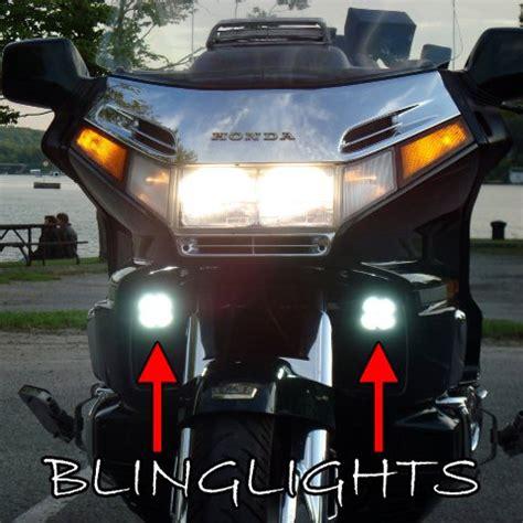 4300k led driving lights foglamps kit for honda gold wing