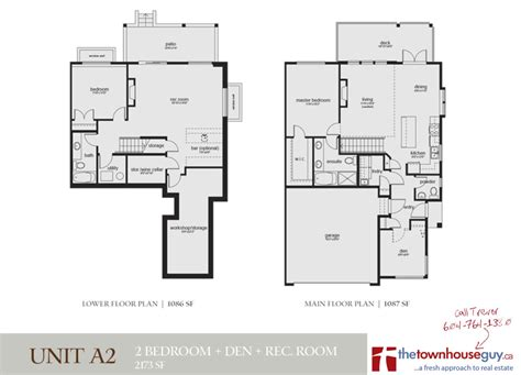 portrait homes townhouse floor plans wieland homes