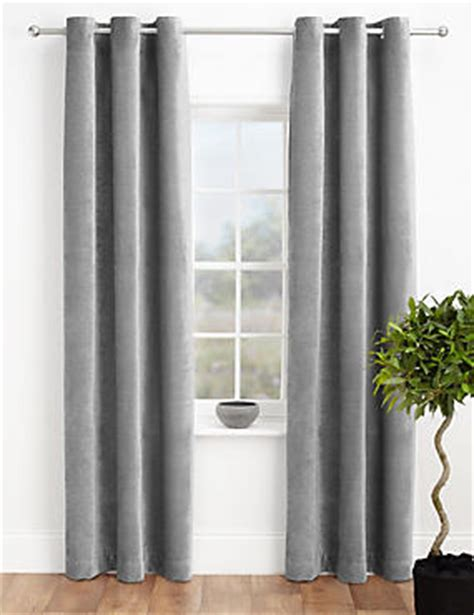 marks and spencer made to measure curtains curtains ready made net eyelet bedroom curtains m s
