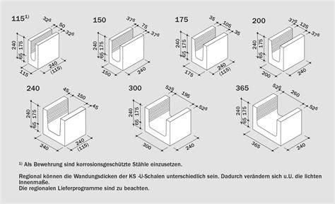 Kalksandstein 8df Preis by Ks U Schalen