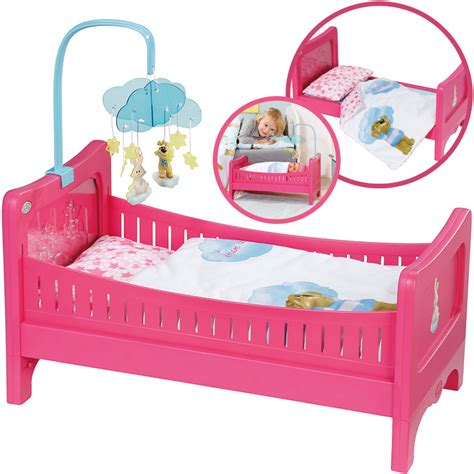baby born bett zapf creation baby born bett mit mobile bei nunon de