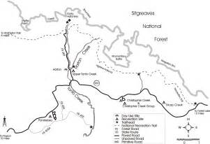 arizona forest road map pin road map az views on