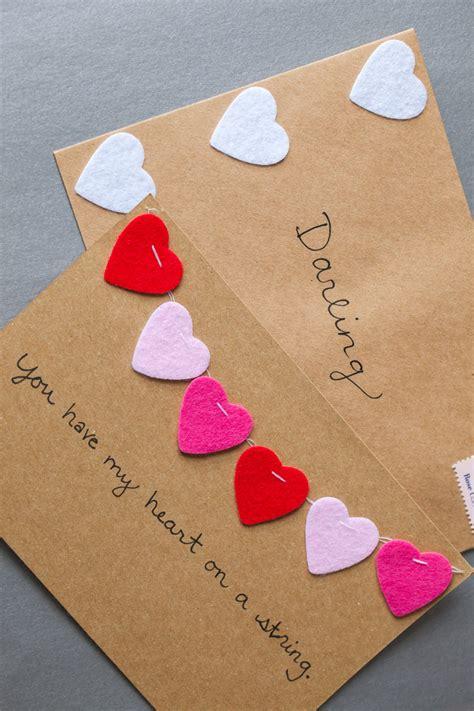 Valentine S Day Gift Card Ideas - diy valentine s day cards valentine crafts